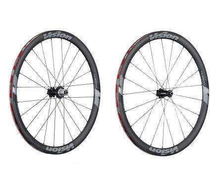 Vision Trimax Carbon 40 Disc CL – Hjulsæt – 700c – Clincher – Carbon/Alu