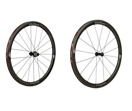 Vision Trimax Carbon 40 – Hjulsæt – 700c – Clincher – Carbon