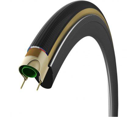 Vittoria Open Corsa G+ – foldedæk til racercykler 700×25 – Sort/Natur