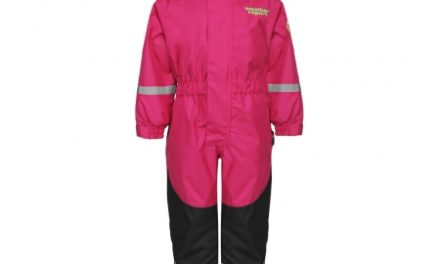 Weather Report Tusi Jr. Mini – Flyverdragt – Pink – Str. 100