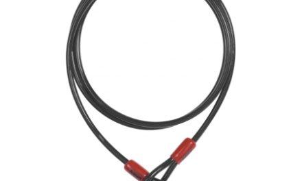 Wire Abus Cobra øje i hver ende 8 mm x 200 cm lang