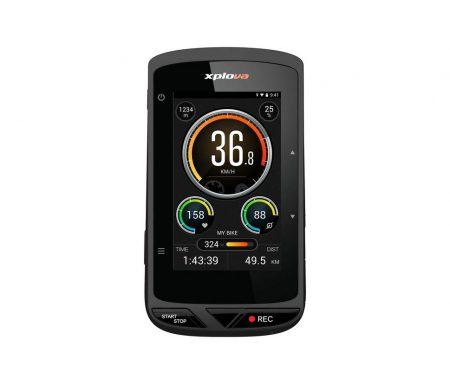 """Xplova X5E – Cykelcomputer med GPS – 3"""" display"""