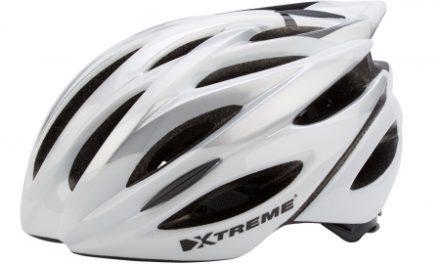 Xtreme – Cykelhjelm X-OTW – Str. 55-60 cm – Sølv