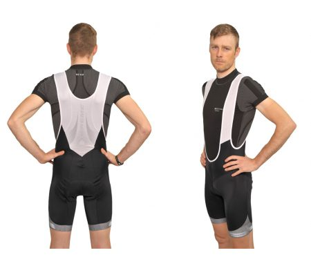 XTreme X-Anatomic – Carbon bib shorts med pude – Sort