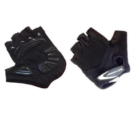 XTreme X-Basic – Cykelhandske med gel – Sort – Kort