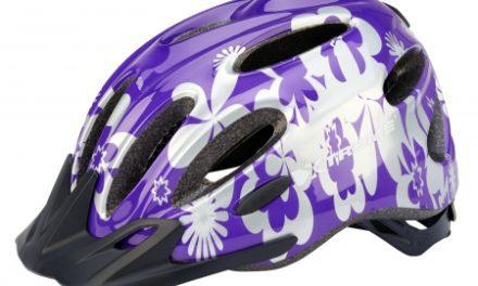 Xtreme – X-City – Cykelhjelm – Str. 55-60 cm – Lilla/Sølv
