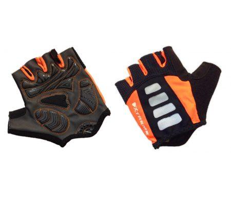 XTreme X-Guard – Cykelhandske – Sort/orange – Kort