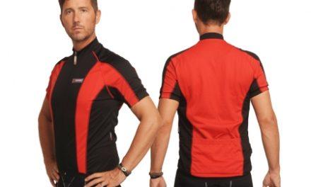 XTreme X-Jens – Cykeltrøje med korte ærmer – Rød/Sort