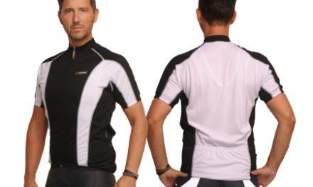 XTreme X-Jens – Cykeltrøje med korte ærmer – Sort/Hvid