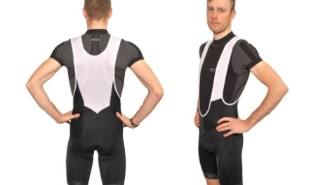 XTreme X-Mile – Bib shorts med pude – Sort
