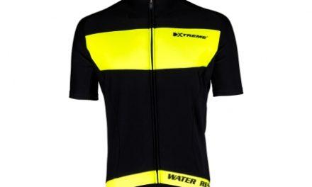 XTreme X-Rain – Cykeltrøje med korte ærmer – Sort/Neongul