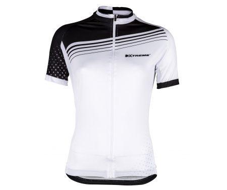 XTreme X-Rainbow – Cykeltrøje – Dame – Hvid/Sort