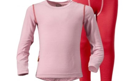 Yala Kid's 1st layer undertøjssæt  – rosa str 80