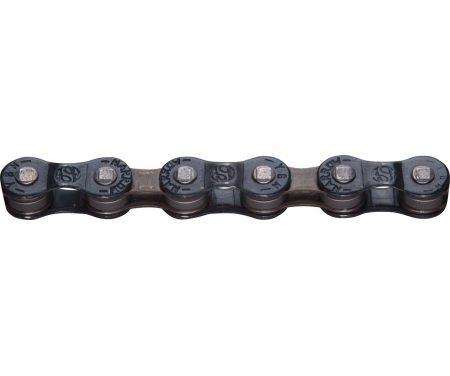 YBN – Kæde 6 og 7 Gear – S50 – 116 Led – Navy Blå/Brun