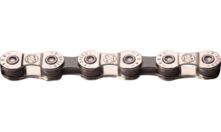 YBN – Kæde 9 Gear – S9-S – 116 Led – Sølv/Grå