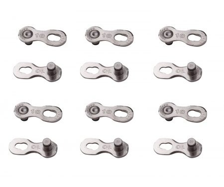 YBN – Samleled til 10 Gear – 6 stk. – Sølv