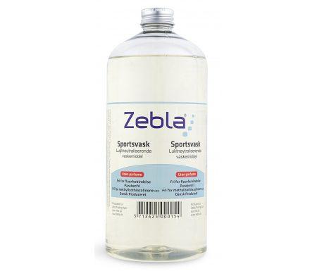 Zebla Sportsvaskemiddel – Parfumefri – 1000 ml