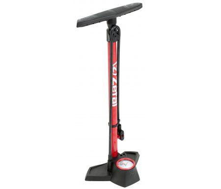 Zefal Profil Max FP30 fodpumpe rød 12 bar 180 psi – Passer til alle ventiler